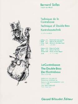 Technique de la Contrebasse Volume 1 Bernard Salles laflutedepan