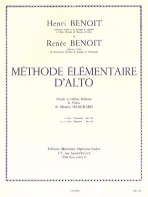 Méthode élémentaire d'alto - Volume 2 laflutedepan
