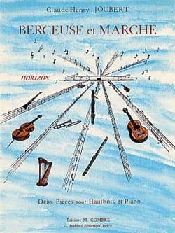 Berceuse et Marche Claude-Henry Joubert Partition laflutedepan