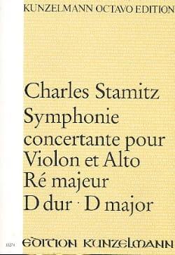 Symphonie concertante ré maj. - Partitur STAMITZ laflutedepan