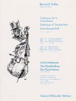 Technique de la contrebasse - Volume 2 Bernard Salles laflutedepan