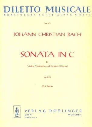 Sonata C-Dur op. 15 Nr. 1 -Stimmen Johann Christian Bach laflutedepan