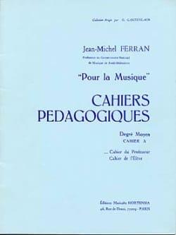 Cahiers pédagogiques - moyen A / Prof Pour la musique laflutedepan
