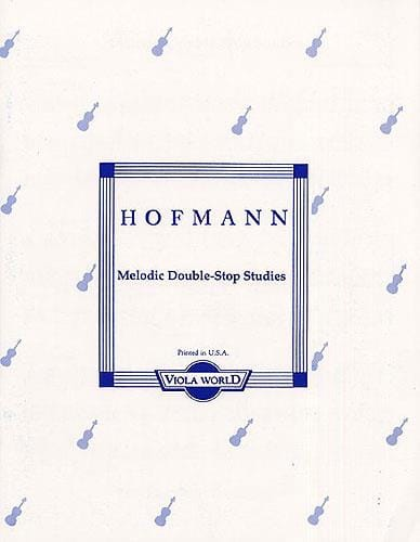 Melodic Double-Stop Studies op. 96 - Viola - laflutedepan.com