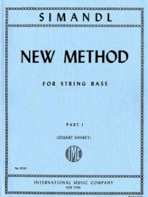 New method for string bass, part 1 - Franz Simandl - laflutedepan.com