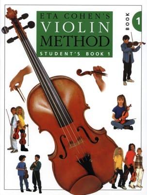 Violin Method, Volume 1 - Student Eta Cohen Partition laflutedepan