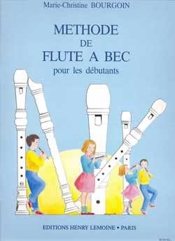 Méthode de flûte à bec soprano Marie-Christine Bourgoin laflutedepan