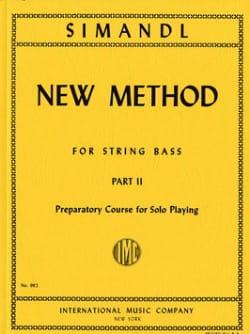 New method for string bass, part 2 Franz Simandl laflutedepan
