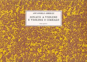 CORELLI - Sonata a violin e violone o cimbalo, op. 5 - Partition - di-arezzo.co.uk