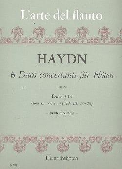 6 Duos concertants op. 101 Heft 2 - 2 Flöten HAYDN laflutedepan