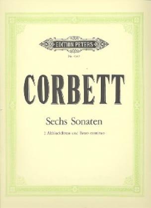 6 Sonaten - 2 Altoblockflöten Bc - William Corbett - laflutedepan.com