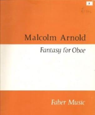 Fantasy - Oboe - Malcolm Arnold - Partition - laflutedepan.com