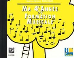 CD / Ma 4ème année de formation musicale SICILIANO laflutedepan