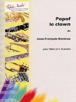 Popof le Clown Jean-François Basteau Partition laflutedepan