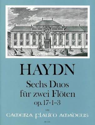 6 Duos op. 17 - Bd. 1 Nr. 1-3 - 2 Flöten - HAYDN - laflutedepan.com