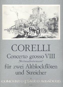 Concerto g-moll, op 6/8 - Partitur mit Stimmen CORELLI laflutedepan