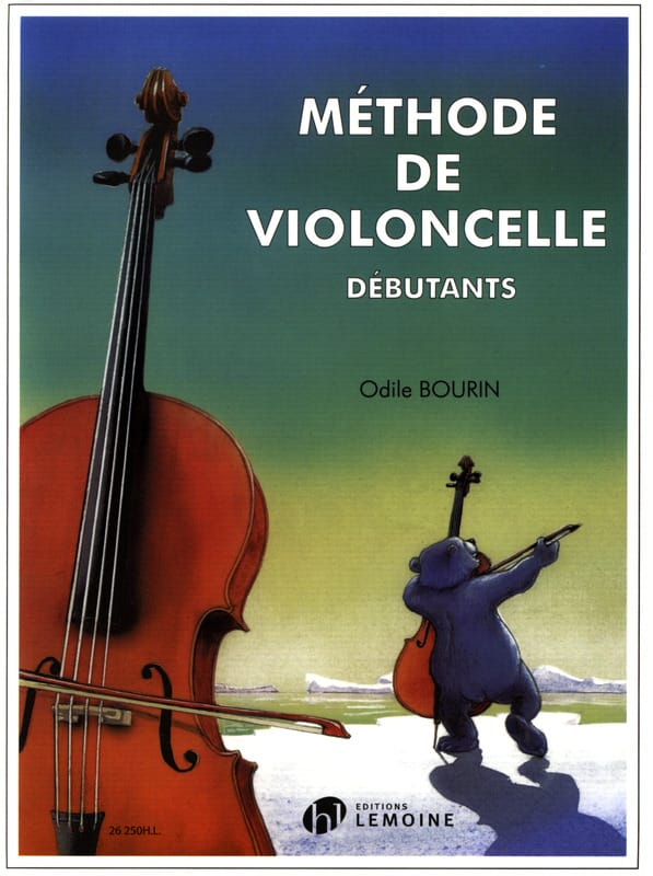 Méthode de Violoncelle - Odile Bourin - Partition - laflutedepan.com