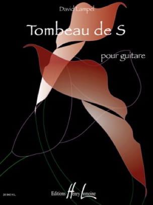 Tombeau de S - David Lampel - Partition - laflutedepan.com