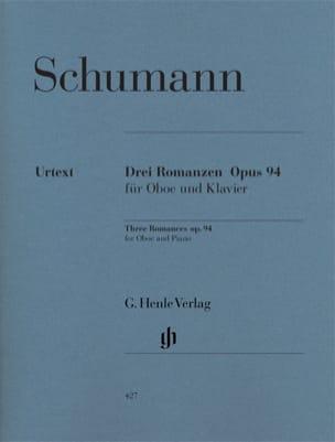 Trois Romances op. 94 pour hautbois et piano SCHUMANN laflutedepan