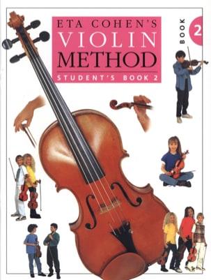 Violin Method, Volume 2 - Student Eta Cohen Partition laflutedepan