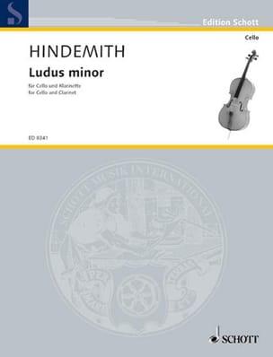 Ludus Minor HINDEMITH Partition Duos - laflutedepan