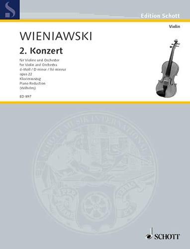 Concerto en ré mineur op. 22 - WIENAWSKI - laflutedepan.com
