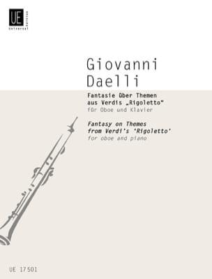Fantasie über Themen aus Verdis Rigoletto -Oboe Klavier - laflutedepan.com