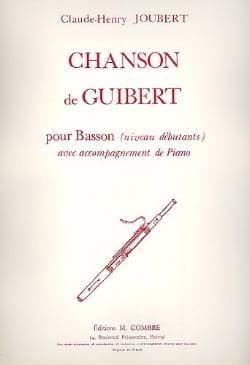 Chanson de Guibert Claude-Henry Joubert Partition laflutedepan