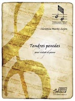 Tendres pensées - Violon et piano Christine Marty-Lejon laflutedepan