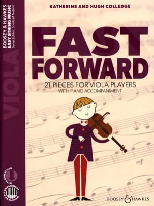 Fast Forward - Alto et Piano Katherine & Hugh Colledge laflutedepan