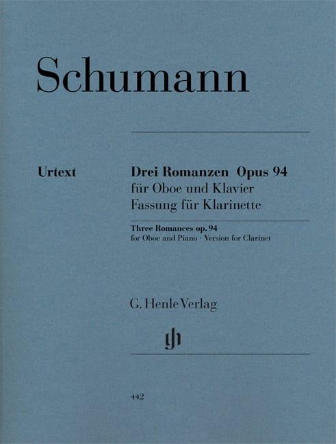 3 Romances op. 94 - SCHUMANN - Partition - laflutedepan.com