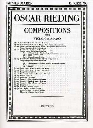 Zigeunermarsch op. 23 n° 2 - Oskar Rieding - laflutedepan.com