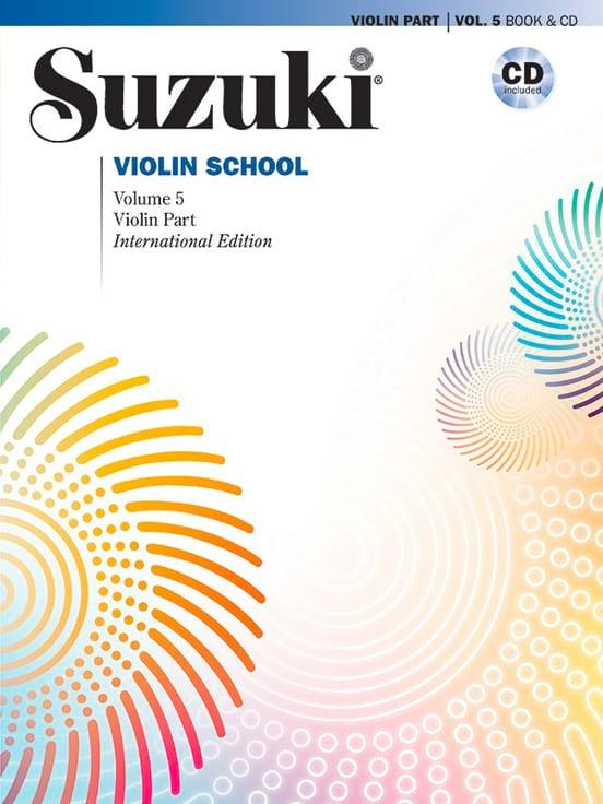 Violin School Volume 5 édition internationale avec CD - laflutedepan.com