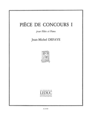 Pièce de concours 1 - Jean-Michel Defaye - laflutedepan.com