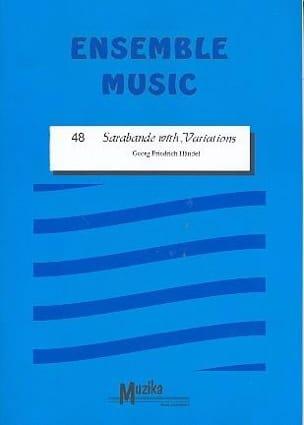 Sarabande with variations -Ensemble HAENDEL Partition laflutedepan