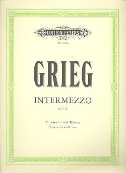 Intermezzo EG 115 GRIEG Partition Violoncelle - laflutedepan