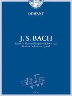 Sonate Flute et Clavecin BWV 1020 BACH Partition laflutedepan