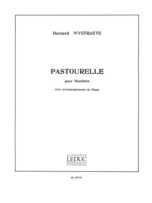 Pastourelle - Bernard Wystraete - Partition - laflutedepan.com