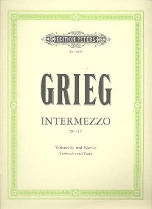 Intermezzo EG 115 - GRIEG - Partition - Violoncelle - laflutedepan.com