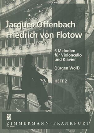 6 Melodien für Violoncello und Klavier, Heft 2 laflutedepan