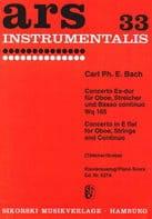 Konzert Es-Dur Mib M. - Hautbois-Piano laflutedepan