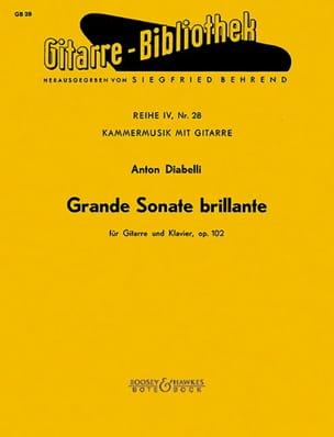Grande Sonate brillante op. 102 -Gitarre Klavier laflutedepan