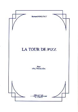 La Tour de Pizz Bernard Malait Partition Violoncelle - laflutedepan