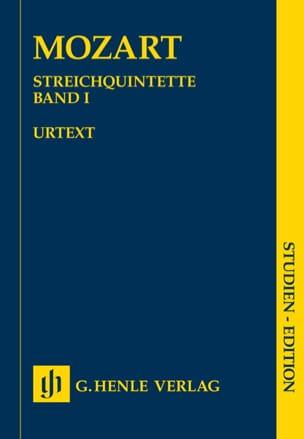 Quintettes à cordes, volume 1 MOZART Partition laflutedepan