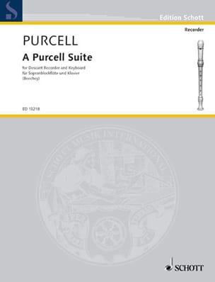 A Purcell Suite PURCELL Partition Flûte à bec - laflutedepan