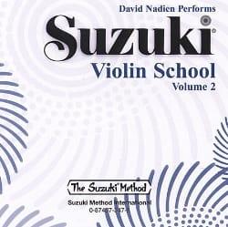 CD / Suzuki Violin School Vol.2 - SUZUKI - laflutedepan.com
