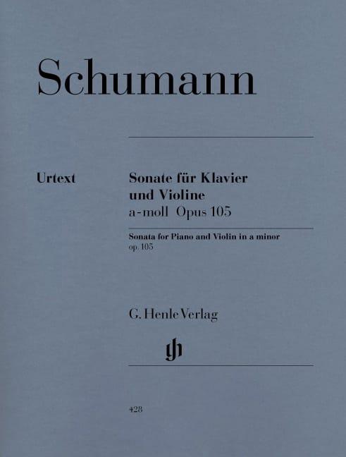 Sonate pour violon en la mineur op. 105 - SCHUMANN - laflutedepan.com