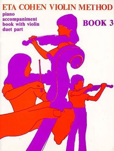 Violin Method, Volume 3 - Piano accomp. - laflutedepan.com