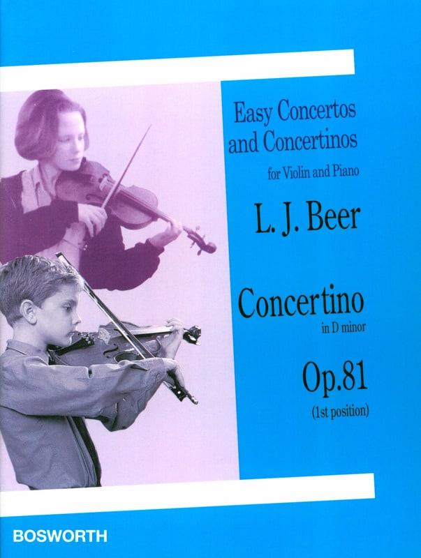 Concertino in D minor op. 81 - Violin - laflutedepan.com