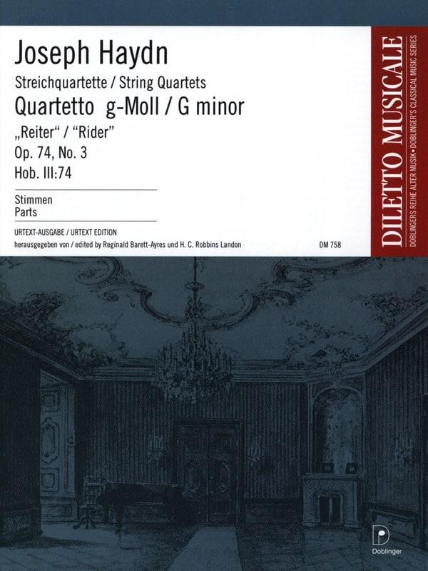 Streichquartett g-moll op. 74 n° 3 -Stimmen - laflutedepan.com